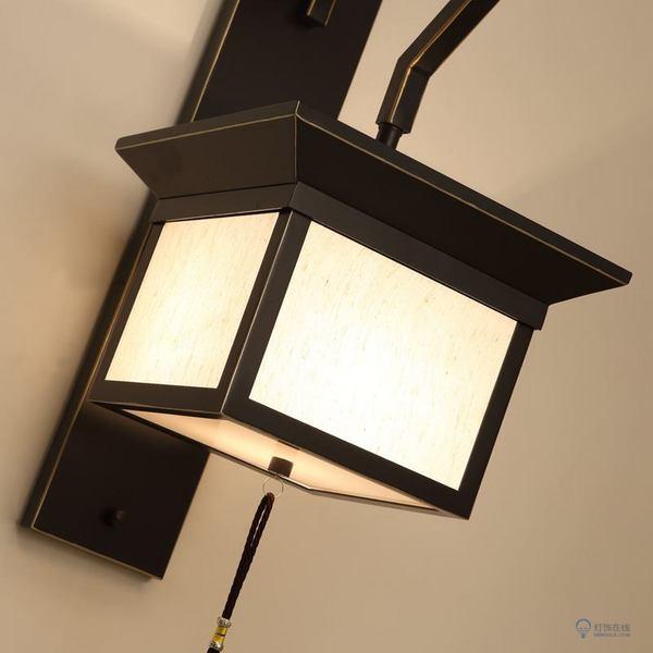 中式铁艺壁灯的定制事项是什么