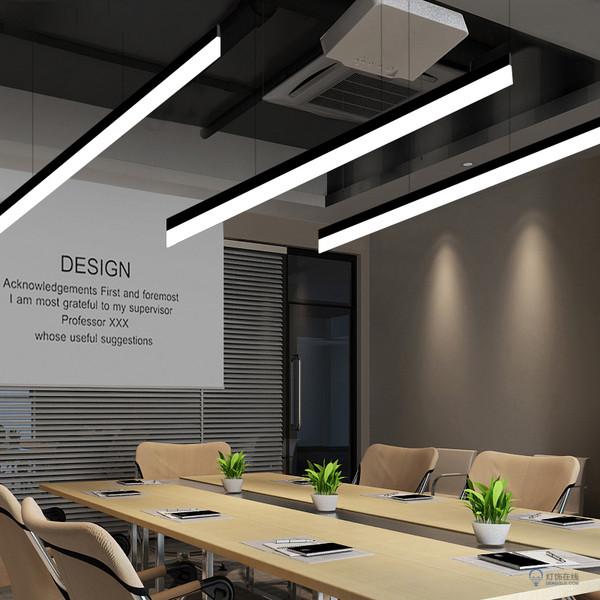办公室长方形吊灯的生产厂家哪一个比较好