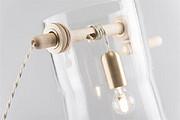 一款以打水井为设计灵感的灯具