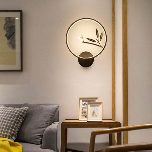 新中式床头壁灯安装效果图的价值