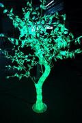 LED树灯。