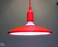 40W 红色铝外壳-红白光-加红(外观专利已受理)