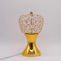 金色花瓶苹果水晶