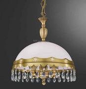 全铜+玻璃单头吊灯