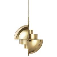 后现代金色可变形吊灯轻奢创意卧室奶茶店多变球个性餐厅客厅吊灯 (1)