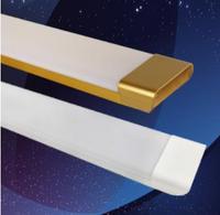 白金双色长条扁形LED灯管