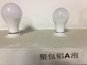 简约节能白色塑包铝A泡