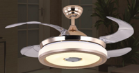 FSD-2663-MP现代简约白金色风扇灯
