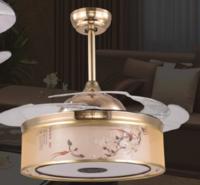 FSD-2988中国风花鸟图案风扇灯