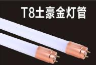 T8土豪金灯管