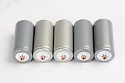 银色塑包磷酸铁锂电池