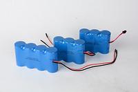 三联排或四联排磷酸铁锂电池组