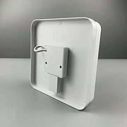 简约方形白色厚碟板灯