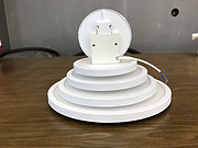 多尺寸圆形白色碟板灯
