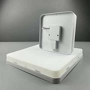 简约方形白色碟板灯
