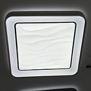 方形水纹吸顶灯