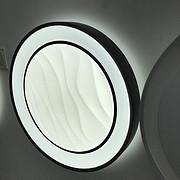 圆形水纹吸顶灯