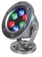 LED水底灯6WRGB