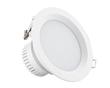简约白色螺纹边压铸LED筒灯