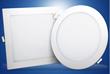 圆形方形白色节能天花筒灯