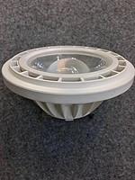白色镂空塑料外壳节能LED射灯