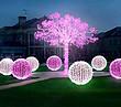 3D立体圆球造型景观灯