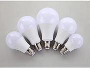 A款简约白色塑包铝LED球泡