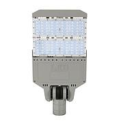 简约方形款灰色双头节能LED路灯