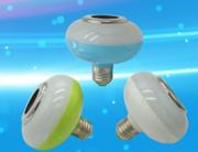 三色UFO蓝牙球泡