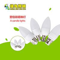 多款式塑包铝LED蜡烛灯泡