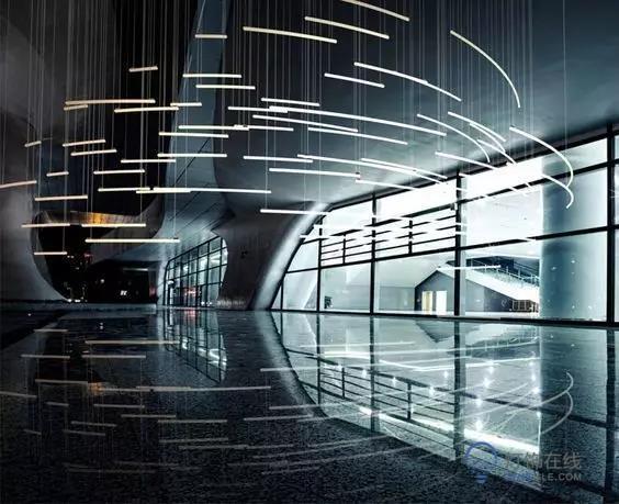 线性照明,线性照明,现代个性光环境的新宠儿