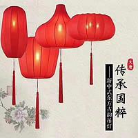 新中式东古韵吊灯