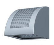 深灰色弧形大功率LED壁灯外壳