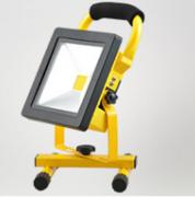 黄色薄边款LED COB手提探照灯