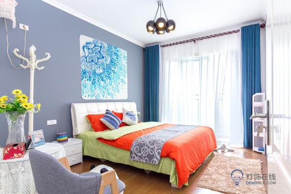 中式卧室吸顶灯在外形上有什么特点