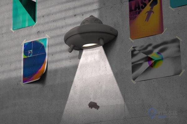 壁灯,飞碟夜灯……给生活增加一点量子波动的魔力