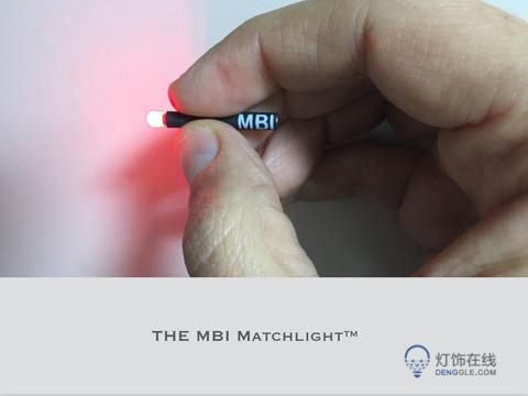手电筒,世界上最小的手电筒 火柴棍一样大 却能照明8小时