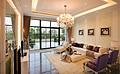现代欧式水晶吊灯在别墅装修中多有应用