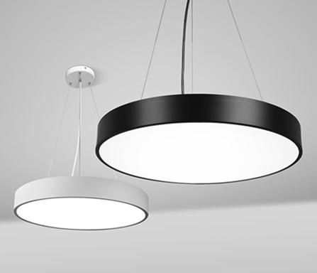 罗以LED现代简约圆形卧室吸顶灯